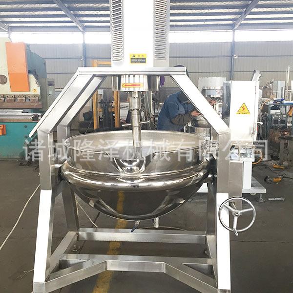 大型搅拌锅机器 番茄酱蒸汽搅拌锅  蒸汽搅拌炒锅